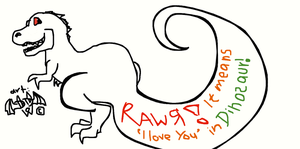 Rawrrriloveyou by InfernalEvanesce