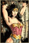 wonder woman by tengari