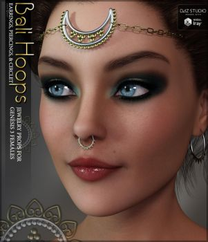 Bali Hoops for G3F by cosmosue
