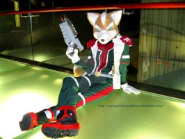 Star Fox cosplay by Michelangeline