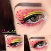 Pink and Yellow by MissVonXtravaganz