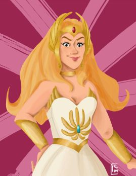 She-Ra by Miamimwa
