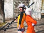 fem! Trafalgar Law and fem! Bepo by Ginkirii