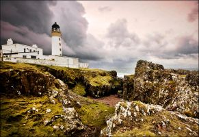 Rua Reidh Lighthouse, Scotland by ketscha