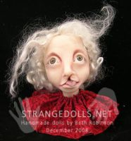 Christmas Ornaments for 2008 f by strangedolls