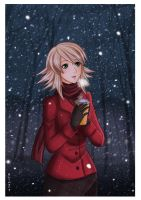 Snowing by Klimene