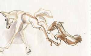 Stand Up Baby Horse by ChloeC