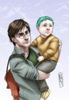 Teddy and Harry by Nyctale