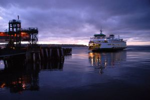 bainbridge ferry by 32tsunami