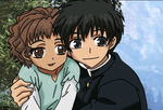 Kyo Kara Maoh!: Greta and Yuuri - Coulor art by UsagiTail