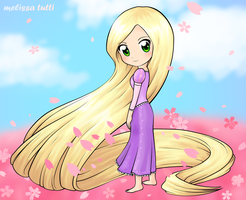Tangled - Rapunzel by Menechi