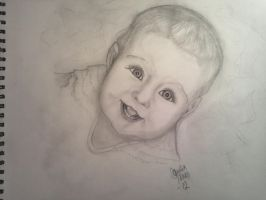 first baby portrait by tonez2