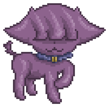 Eye of the Witch Cat - Pixel Practice by GildedMelody