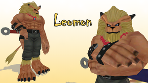 MMD Leomon by KingdomHeartsNickey
