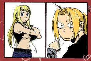 If U Seek Winry by MizAb