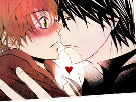 Sekaiichi Hatsukoi manga coloring by Ultimate-Low