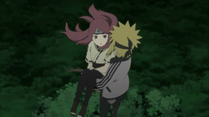 Minato saved Kushina by TheBoar