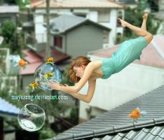 Anti Gravity - Bubble by Mayezeng