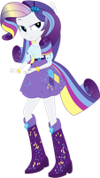 Rainbowfied Rarity by shaynelleLPS