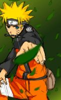 NARUTO Pose+Coloring Practice by Cei-08