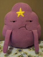 Lumpy Space Princess plush v1 by Ruaniamh