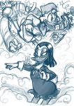 Scrooge and Magica by OnJedone