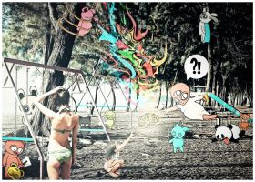 Brain is a playground by O-Nobody-O