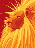 Phil's Lion by Melelel
