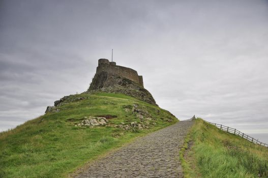 Lindisfarne Castle by artismagica
