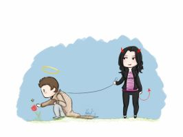 Supernatural: Meg's Puppy by Ebulliently-Askew