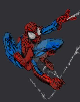Spiderman by bro257