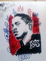King Kendrick by mrfrivolous