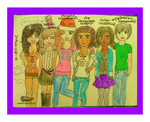 All 24/7 cha members people ik irl COLOURED finish by ANIMEMANGAKIDGIRL
