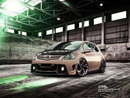 Toyota Auris by GRTp