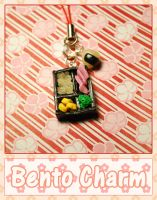 Tiny Little Bento Charm by querulousArtisan