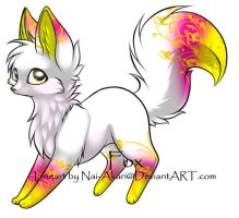 Fox Adoptable ~ 8 by BiahAdopts