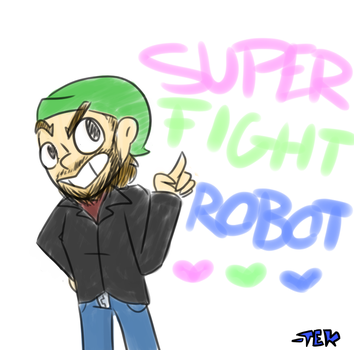 SuperFightRobot (old-ish) by 1nvaderTek
