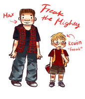 Freak the Mighty Doodle by rinime-kafu