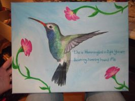 Hummingbird by Rufina72