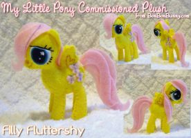 MLP Plush Filly Fluttershy by Bon-Bon-Bunny