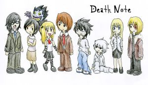 Death note by paupaula