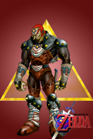 Ganondorf Home Screen by gameover89
