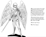 Character Reference - Archangel Michael by TheCreatorOf4