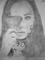 Clary Fray Drawing by JessMindless