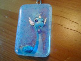 Dragonair Necklace 2 by goodcleanevilfun
