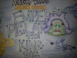 Angry Birds Star Wars:Emperor Piglatine[King Pig] by MeganLovesAngryBirds