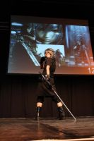 Noctis Lucis Caelum on the stage by AngelEmoGirl