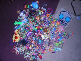 My Current Kandi Collection!:D by Starstruck-Sadie