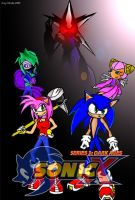Sonic X series 3 cover by Okida