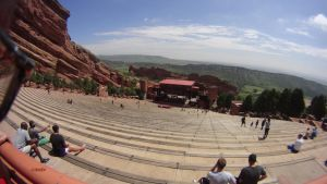 Redrocks Amphitheater by candysamuels